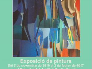 Xitina's new Exhibition in Garraf near Barcelona.